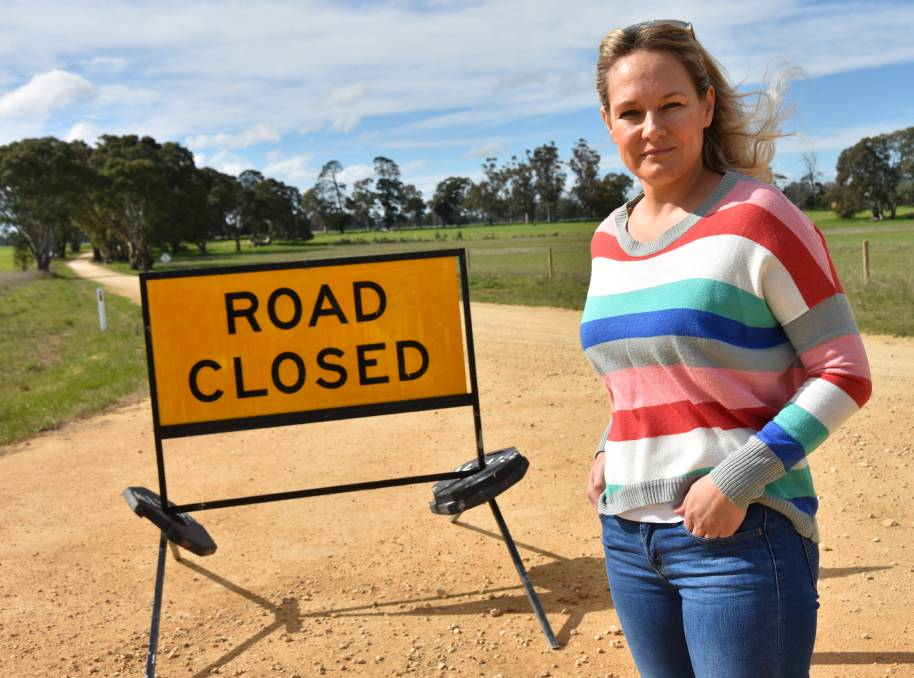 FEARS REMAIN: Border community member Paula Gust, Apsley, Vic, says many residents in the 40-kilometre zone are wary of being locked out of SA again.