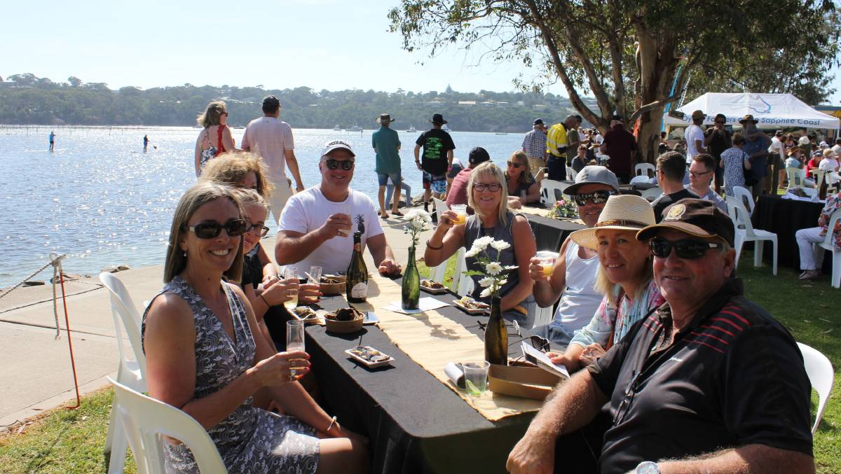 Gather the gang ... Merimbula's EAT Festival is three days of wining and dining. Picture: Supplied