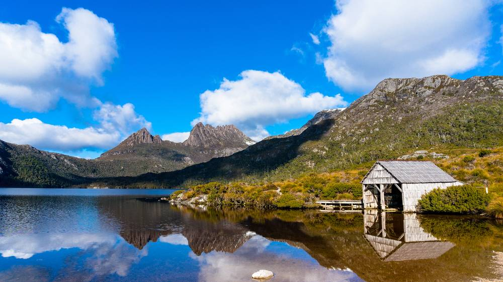 Staying in huts during a six-day trek of Tasmania's Cradle Mountain is a similar experience to walking Europe's Mont Blanc. Pictures: Shutterstock